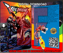 Voltron Custom Digital Download Lego Card Back - $8.00