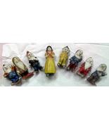Snow White and the Seven Dwarfs 1930's Walt Disney Figures Bisque - $300.00