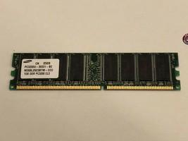Apple Mac mini A1103 Samsung 1GB DDR PC3200 CL3 Memory Ram PC3200U-30331-B2  - $11.87