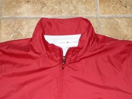 Tommy Hilfiger Golf Jacket Womens Large L Ladies Coat Red - $25.00