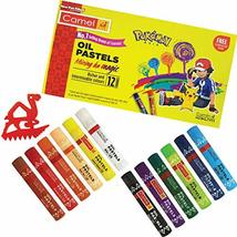 KOKUYO CAMLIN 12 Oil Pastels Shades Richer Inter-mixable Colours + Free ... - $44.54