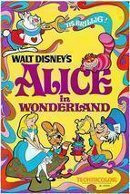 Alice In Wonderland - 1951 - Movie Poster - $9.99+