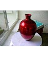 Foil Ceramic Crafted Art Studio High Glaze Floor Vase - $29.70