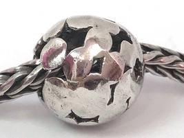 Authentic Trollbeads Sterling Silver Spot Bead Charm 11421, New - $37.99