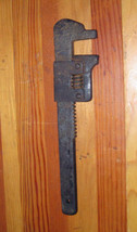 Early Vintage Wizard No.9 Pipe Wrench Worcester... - $8.15