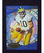 2000 Quantum Leaf Football #343 Tom Brady [New England Patriots] Rookie ... - $5.00