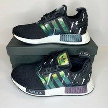 NEW! Adidas Originals NMD R1 Women's Black Reflective Sneakers FW3331 Size 6 - $87.89