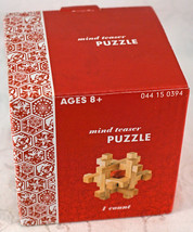 Mind Teaser Puzzle 3D Wood Block Puzzle in Box - $9.99