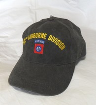Us Army 82ND Airborne Made In Usa Military Hat Baseball Cap - $31.95