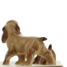 Hagen Renaker Miniature Dog Cocker Spaniel Papa and Pup Ceramic Figurine Set image 6