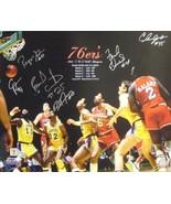 Bobby Jones signed Philadelphia 76ers 16x20 Photo 1983 NBA Champions w/ ... - $119.00