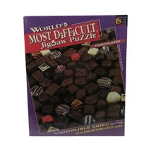 World's Most Difficult Jigsaw Puzzle Chocolates 529 Piece Double Sided 1... - $29.99