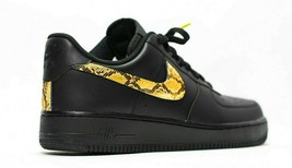 nike air force 1 Black custom 'Python' available in all sizes 7-13 - $210.00