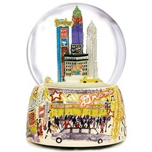 NYC Broadway Musical Water Globe by The San Francisco Music Box Company - $95.63