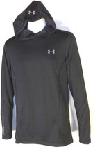 UNDER ARMOUR MEN'S BLACK PULLOVER HOODIE Sz M, #1319962-001 - $45.99