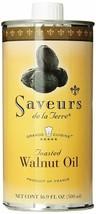 Saveurs de la Terre Toasted Walnut Oil - 16.9 fl oz., Two Cans - $24.43