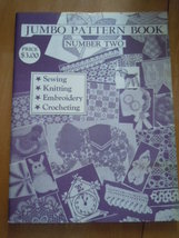 Vintage Jumbo Pattern Book Number Two Instruction Book 1966 - $5.99