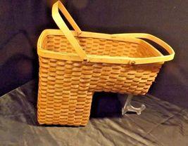 Double Handled Swing Basket Handmade AA18-1294 Vintage image 5