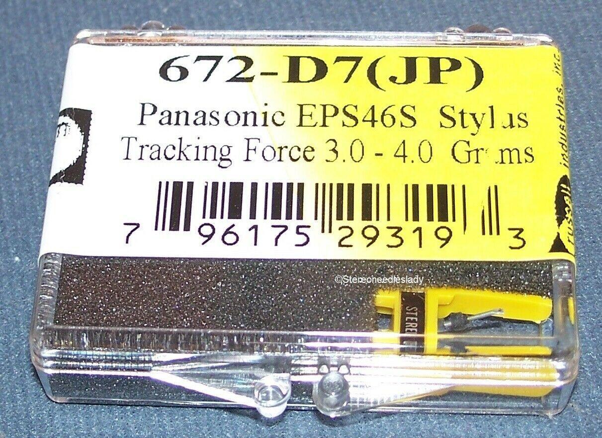 Panasonic Technics EPS-46STSD STYLUS NEEDLE replacement Panasonic EPC46OC 672-D7