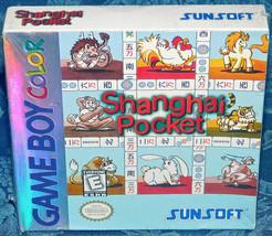 Shanghai Pocket Nintendo Game Boy Color 1998 Factory Sealed New Game NES... - $32.71