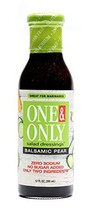 One&Only Balsamic Pear Salad Dressing, 12 fl.oz., No Sugar Added Keto Salad Dres