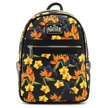 Black Panther Floral Mini Backpack Black - $71.98