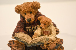 Boyds Bears  Ted & Teddy  Reading the Book  Style #2223  Classic Figures - $14.84