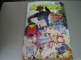 Annie's Pattern Club Newsletter Booklet #34 - Aug/Sept 1985 - $4.94