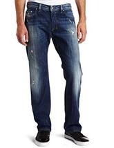 DIESEL SAFADO Men Jeans 28x32 Wash 008QL Destroyed Slim Straight Style NWT - $94.09