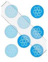 Scallop Circles Flower25-Download-ClipArt-ArtClip-Digital Tags-Digital - $3.99