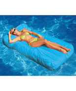 Solstice SunSoft Mattress Lounge Soft cool and comfortable Color Blue/Red - $99.88