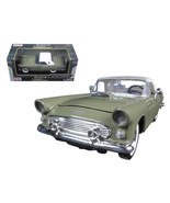 1956 Ford Thunderbird Soft Top Green 1/24 Diecast Car Model by Motormax 73312grn - $29.89