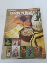 Leisure Arts Odds N Ends To Knit And Crochet Patterns #99 - $8.90