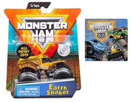 Monster Jam 2019 Earth Shaker Truck & One Monster Jam Sticker - $9.99