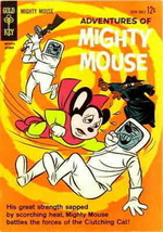 Adventures of Mighty Mouse (2nd Series) #160 VG; Literary Enterprises | ... - $13.99