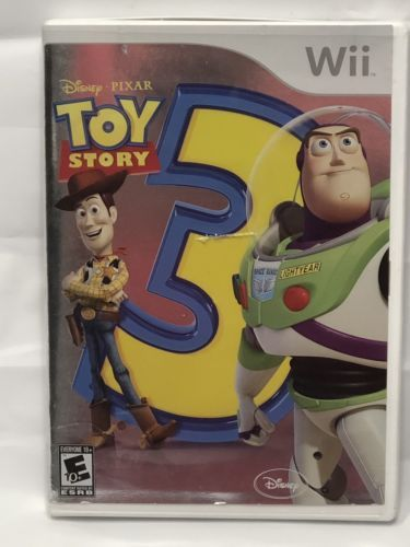 Toy Story 3 (Nintendo Wii, 2006) Tested & Working Good Condition No Manual