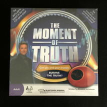 The Moment of Truth Honesty Game With Biometric Lie Detector - New Sealed - $21.70