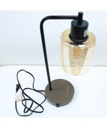 KOOHORO  Industrial Table Lamps Bedside Nightstand Desk Lamps with Glass... - $35.80