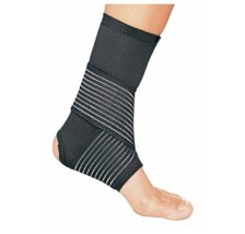 DJO Ankle Support Medium Hook and Loop Closure Left or Right Foot, Qty : 1 - $22.77