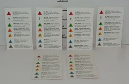 Screenlife TV edition Scene it DVD Board Game Replacement Category Cards - $9.50