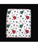 Arctic French Bulldog Christmas Sweater 4-Pc KING Turkish Flannel Sheet ... - $77.99