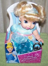 "My First Disney My Sweet Princess Cinderella 11"" Baby Doll with Rattle New - $26.50"