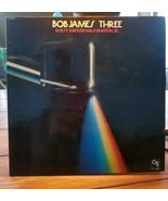 BOB JAMES THREE GUEST GROVER WASHINGTON JR. CTI 6063 LP RECORD 1976 - $14.54