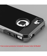 Hybrid Shockproof Hard Soft Rugged Cover case for Apple Iphone 6 4.7 6 P... - $20.17