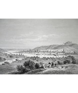 MEMPHIS View of City Tennessee - CIVIL WAR Era Print - $39.60