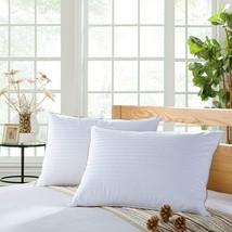 VERSARI Premium Down Pillows for sleeping queen white-supportive for sid... - $2.307,88 MXN