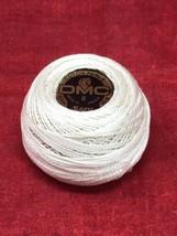 Dmc #8 10 Gram COTON/COTTON Perle Thread 80m Ball Ecru Made In France - $4.94