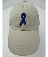 Purple Ribbon Awareness Adjustable Adult Ball Cap Hat - £10.09 GBP