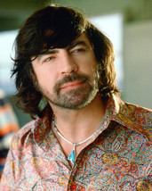 Alan Bates 16x20 Canvas Giclee 1970's in Flowered Shirt - $69.99
