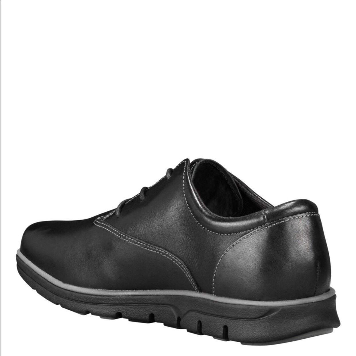 Men's Bradstreet Brown Leather Oxford Shoes